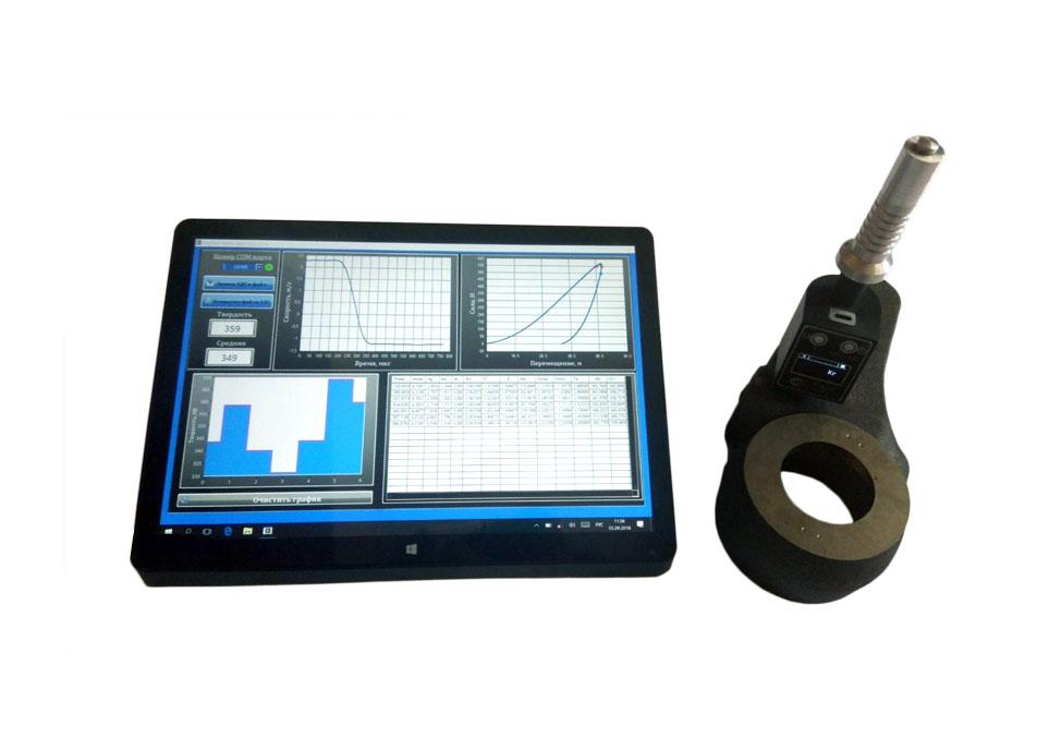 Прибор для измерений физико-механических характеристик чугунов